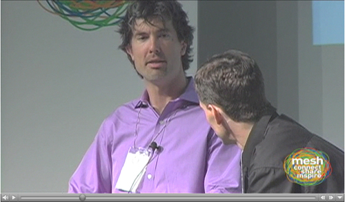 Craigslist CEO Jim Buckmaster at Mesh 07 - Click to play