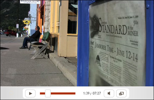 Saving the Silverton Standard - Click to watch video
