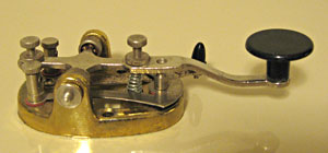 brass-plated ball-bearing key