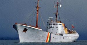 Marine conservation ship Sea Shepherd 2